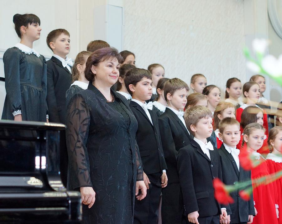 Хор инструментального отделения  Руководитель Биленко Ирина Павловна