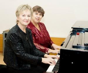 Дуэт преподавателей Н.А.Бабаевой, Н.В.Лариной