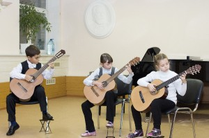 Трио гитаристов  рук.Панасюгин А. Н.