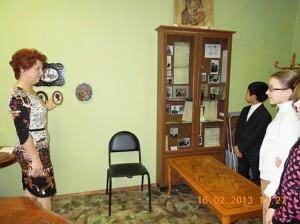 в музее с учениками